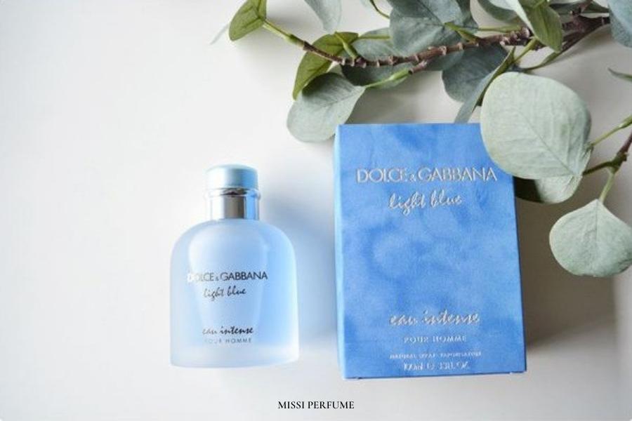 Chọn nước hoa - Dolce&Gabbana Light Blue Eau Intense