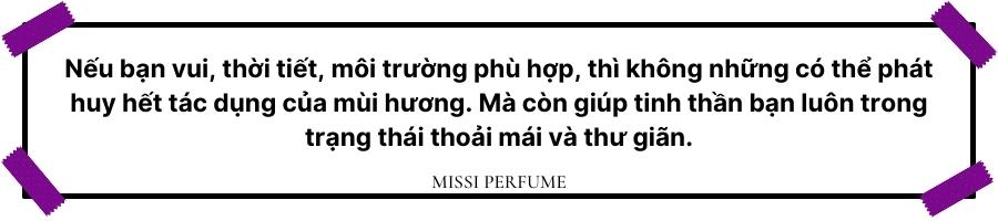 Cách chọn nước hoa nam theo tính cách   Missi Perfume